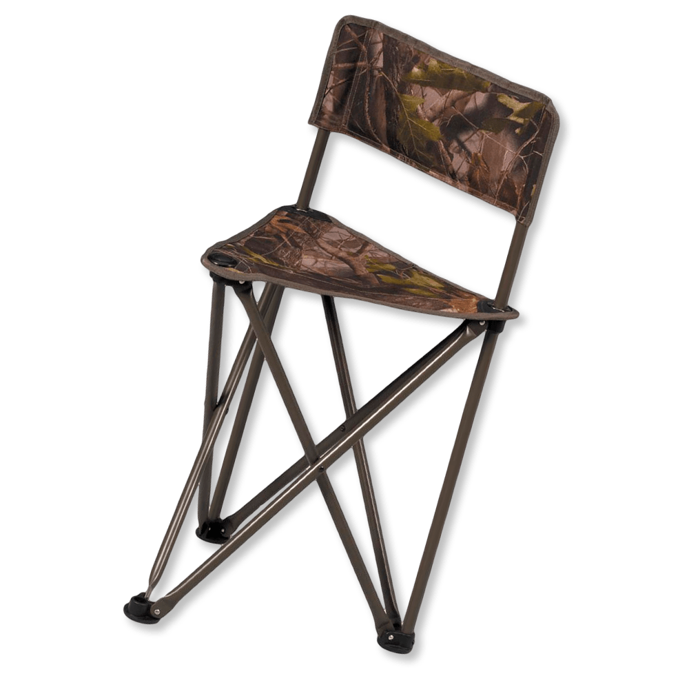 Image of the Hunters Specialties Tripod CamoChair with Backrest