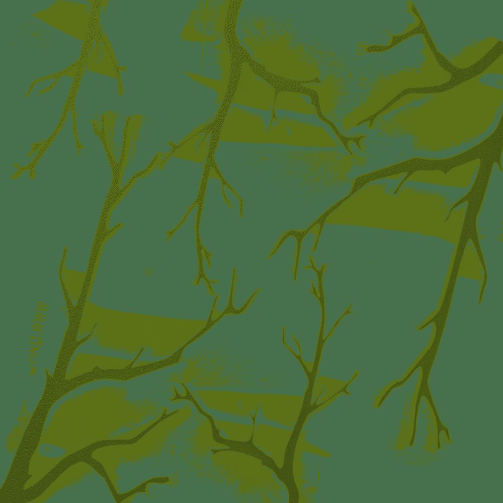 Image of Oak Branches Camo Stencil