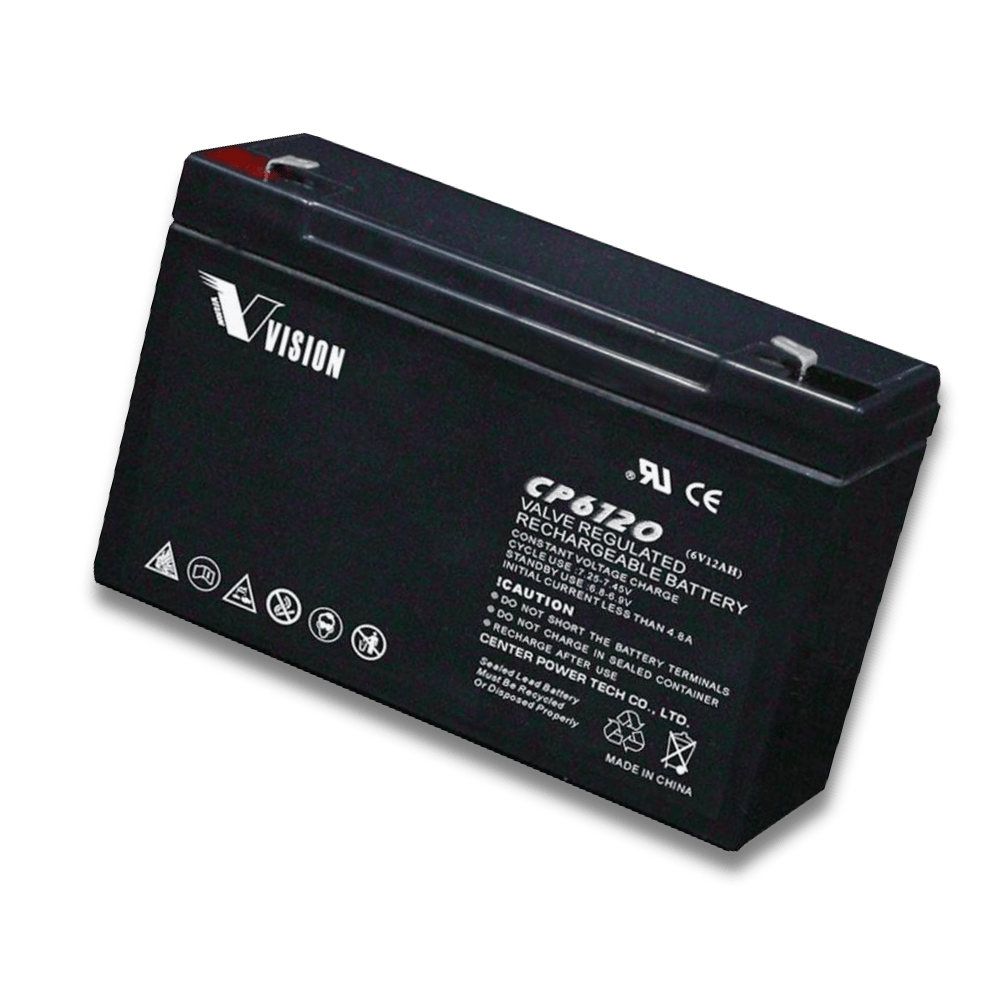 Image shows a Rechargeable 6 Volt Quality Battery