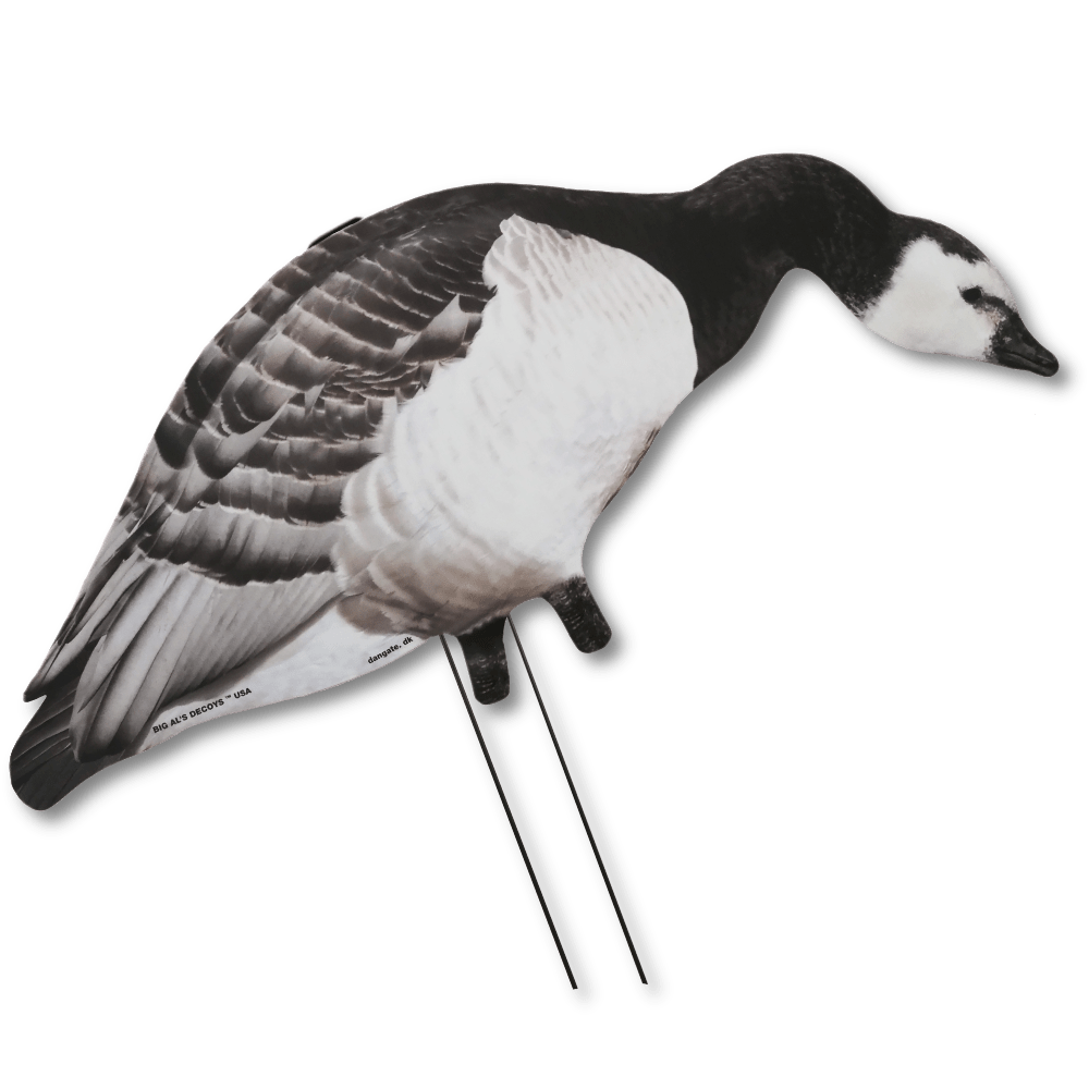 Image of Big Al's Silhouette Barnacle Decoys from side view.
