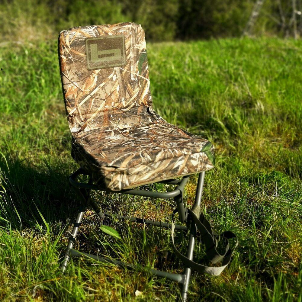 Image of the Banded Foldable Hunting Chair